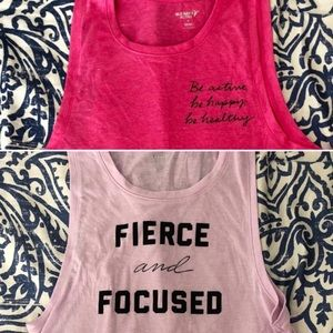 Lot of 2 Old Navy Athletic Tanks - Never Worn